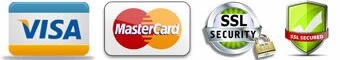 VISA, MasterCard ssl security