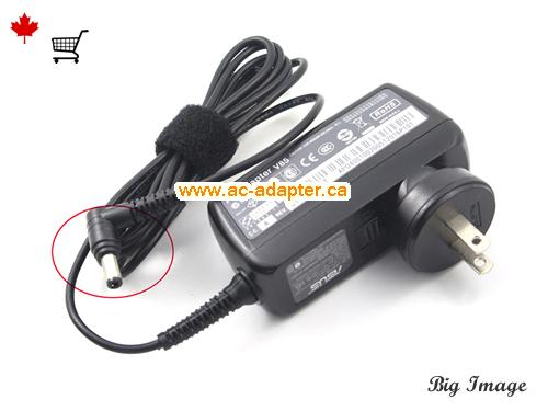 Canada AD890326 AC Adapter,  AD890326 Laptop AC Adapter 19V 1.75A