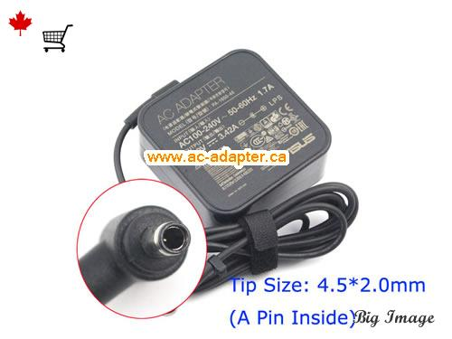 Canada ADP-65AW A AC Adapter,  ADP-65AW A Laptop AC Adapter 19V 3.42A