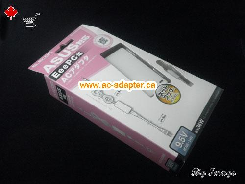 Canada AS9536WH AC Adapter,  AS9536WH Laptop AC Adapter 9.5V 3.78A