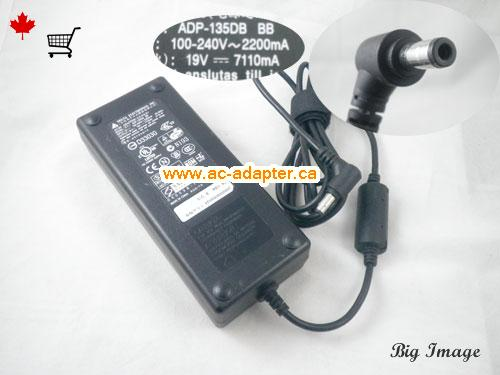 Canada PA-1131-08 AC Adapter,  PA-1131-08 Laptop AC Adapter 19V 7.11A