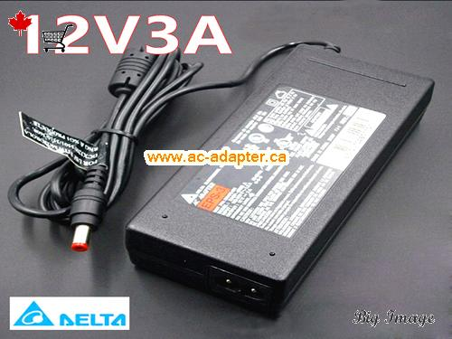 DELTA delta 12V 3A laptop ac adapter Laptop AC Adapter, Power Supply