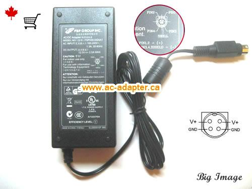 TVVR30003 Laptop AC Adapter, Canada 12V 2.5A ac adapter for  TVVR30003 Laptop
