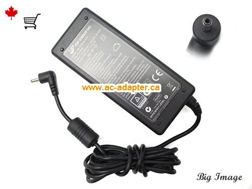 THE TOUCH E1318T AC Adapter, Canada 19V 2.37A ac adapter for  THE TOUCH E1318T Laptop or Monitor