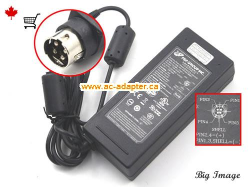 GS1900-24 Laptop AC Adapter, Canada 54V 1.66A ac adapter for  GS1900-24 Laptop