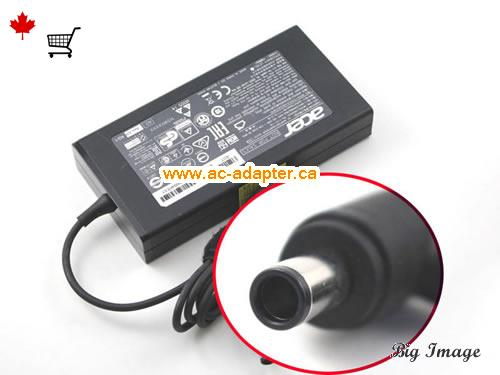ASPIRE U5-620 Laptop AC Adapter, Canada 19V 7.1A ac adapter for  ASPIRE U5-620 Laptop