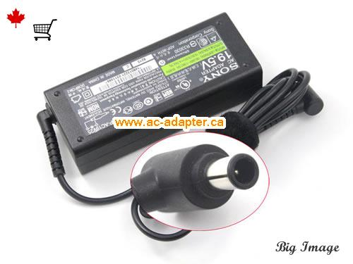 KDL42W655A AC Adapter, Canada 19.5V 4.7A ac adapter for  KDL42W655A Laptop or Monitor