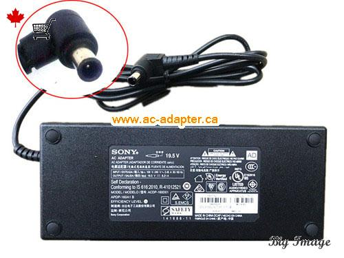 XBR43X800E Laptop AC Adapter, Canada 19.5V 8.21A ac adapter for  XBR43X800E Laptop