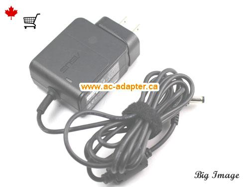 image 3 for  ASUS Asus 12V 2A Laptop Ac Adapter Laptop AC Adapter, Power Supply ASUS12V2A24W-4.8x1.7mm-us-wall