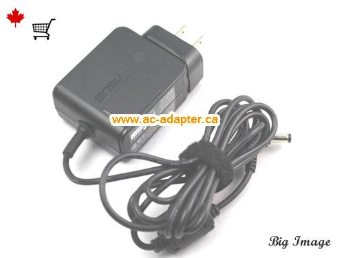 image 4 for  ASUS Asus 12V 2A Laptop Ac Adapter Laptop AC Adapter, Power Supply ASUS12V2A24W-4.8x1.7mm-us-wall