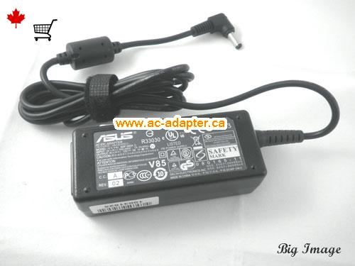 image 1 for  ASUS Asus 12V 3A Laptop Ac Adapter Laptop AC Adapter, Power Supply ASUS12V3A36W-4.8x1.7mm
