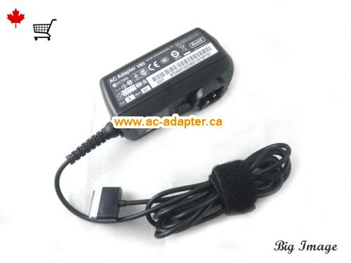 image 2 for  ASUS Asus 15V 1.2A Laptop Ac Adapter Laptop AC Adapter, Power Supply ASUS15V1.2A18W-USB-SHAVER