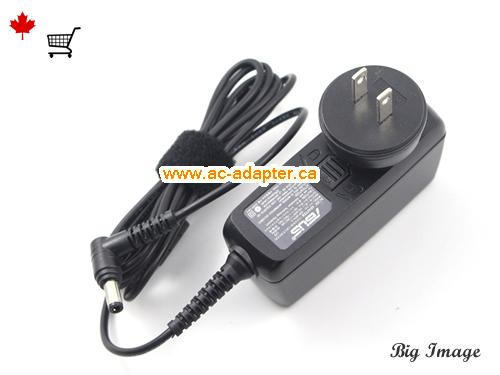image 3 for  ASUS Asus 19V 1.75A Laptop Ac Adapter Laptop AC Adapter, Power Supply ASUS19V1.75A33W-5.5x2.5mm-Shaver