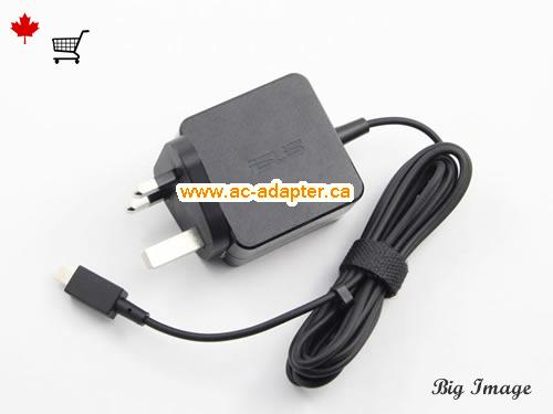image 1 for  ASUS Asus 19V 1.75A Laptop Ac Adapter Laptop AC Adapter, Power Supply ASUS19V1.75A33W-UK-NEW