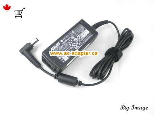image 3 for  ASUS Asus 19V 2.1A Laptop Ac Adapter Laptop AC Adapter, Power Supply ASUS19V2.1A40W-5.5x2.5mm-rightangel