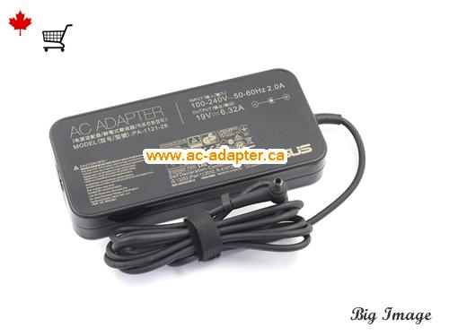 image 1 for  ASUS Asus 19V 6.32A Laptop Ac Adapter Laptop AC Adapter, Power Supply ASUS19V6.32A120W-4.5X2.8mm-Slim