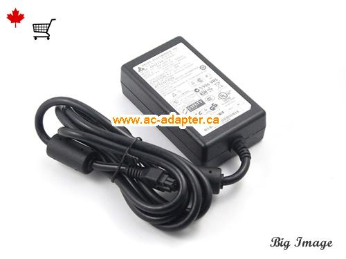 image 1 for  DELTA Delta 12V 0.56A Laptop Ac Adapter Laptop AC Adapter, Power Supply DELTA12V0.56A26W-6holes