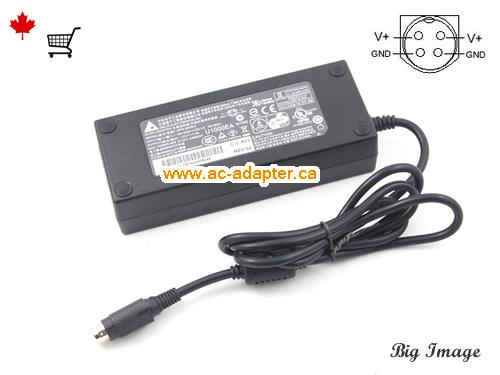 image 1 for  DELTA Delta 12V 7.5A Laptop Ac Adapter Laptop AC Adapter, Power Supply DELTA12V7.5A90W-4PIN