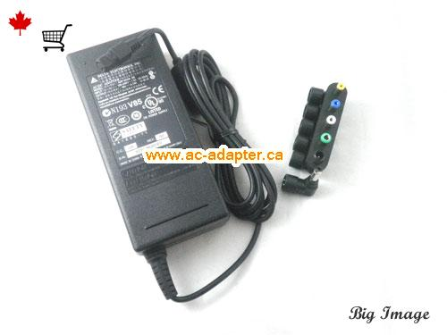 image 1 for  DELTA Delta 19V 4.74A Laptop Ac Adapter Laptop AC Adapter, Power Supply DELTA19V4.74A90W-6TIPS