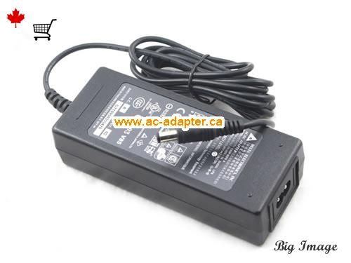 image 2 for  DELTA Delta 24V 2.5A Laptop Ac Adapter Laptop AC Adapter, Power Supply DELTA24V2.5A60W-5.5x2.5mm