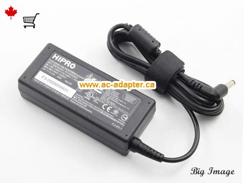 image 1 for  HIPRO Hipro 19V 3.43A Laptop Ac Adapter Laptop AC Adapter, Power Supply HIPRO19V3.43A65W-5.5x2.5mm