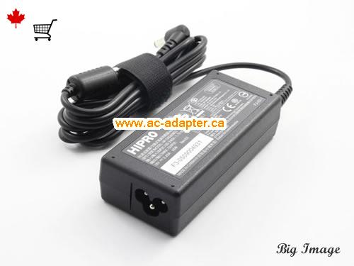 image 2 for  HIPRO Hipro 19V 3.43A Laptop Ac Adapter Laptop AC Adapter, Power Supply HIPRO19V3.43A65W-5.5x2.5mm