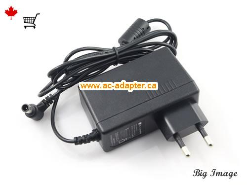 image 1 for  LG Lg 19V 2.1A Laptop Ac Adapter Laptop AC Adapter, Power Supply LG19V2.1A40W-6.5x4.0mm-EU
